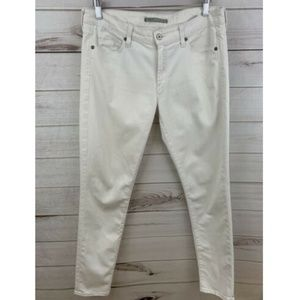 Vince White Skinny Jeans 31x29